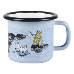 Moomin Enamel Mug Moomin Mellow Wind 0.15 L Muurla