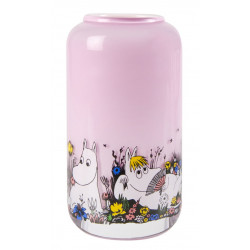 Moomin Vase Shared Moment Pink 12 cm Muurla