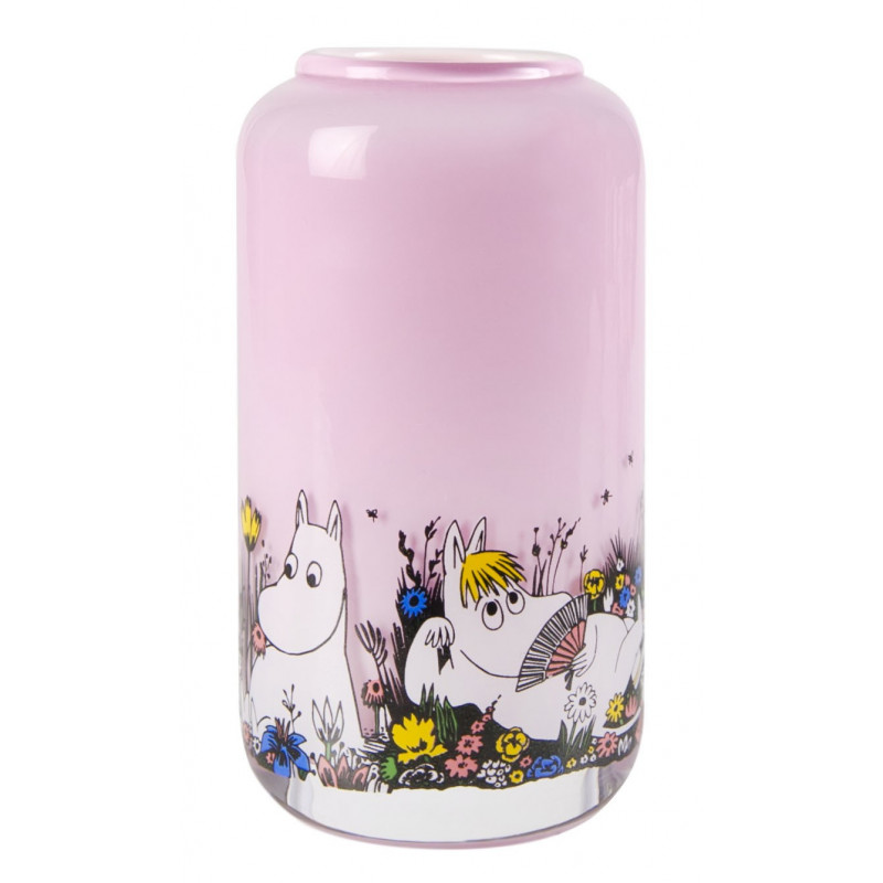 Moomin Vase Shared Moment Pink 12 cm Muurla