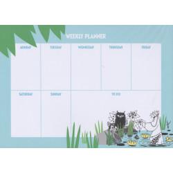 Moomin Weekly Planner...