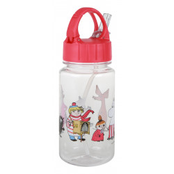 Moomin Friends Plastic Drinking Bottle 3.5 dl