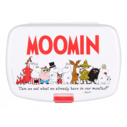 Moomin Friends Snack Lunch Box
