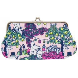 Moomin Miska Party Pink Purse Pouch
