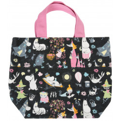 Moomin Launo Canvas Bag Party Dark Blue 28 x 27 x 12 cm