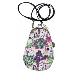 Moomin Juksu Party Pouch Bag Pink