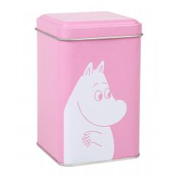 Moomin Font Tin Box XS Rose