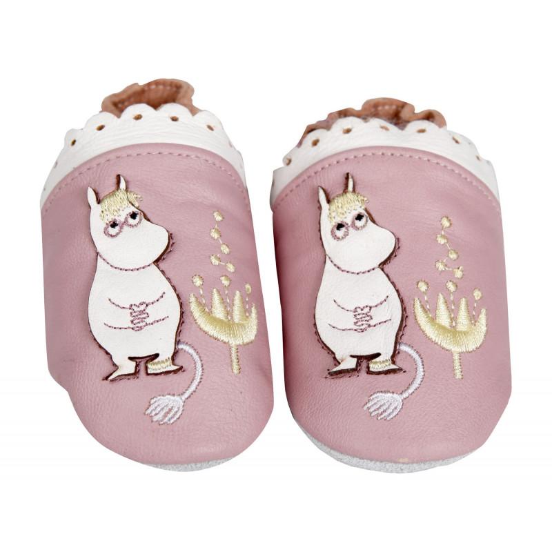 Moomin Tove 100 Baby Slippers Snorkmaiden S 0-6 months