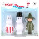 Moomin Characters Bath Set 3 pcs Mamma Pappa Snufkin