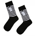 Moominpappa Stripe Black Socks 37-39