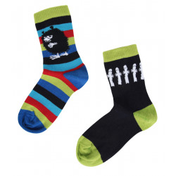 Moomin Stinky Hattifatteners Mix and Match 2 pairs Socks 35-38