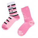 Moomintroll Little My Stripe Pink Mix and Match 2 pairs Socks 35-38
