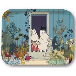 Moomin Birch Tray Riviera Doorstep 35 x 28 cm Optodesign