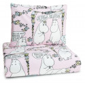 Moomin Duvet Cover Pillowcase Lempimuumi My Hero Pink Finlayson 120 x 160
