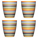 Origo Set of 4 Mugs Orange 0.25 L
