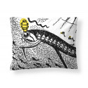 Moomin Pillowcase Amphibious Ship 50 x 60 cm Finlayson