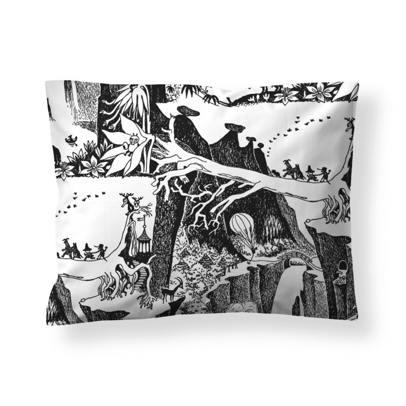 Moomin Pillowcase Adventure 50 x 60 cm Finlayson