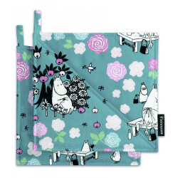 Moomin Pot Holders Moominmamma Dream 2 pcs 22 x 22 cm Finlayson