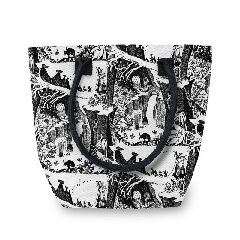 Moomin Large Canvas Bag Adventure 48 x 38 x 20 cm Thick Oilcloth Finlayson