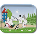 Moomin Birch Tray Going on Vacation 27 x 20 cm Optodesign