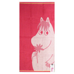 Moomin Bath Towel Snorkmaiden with Flower 70 x 140 cm Finlayson
