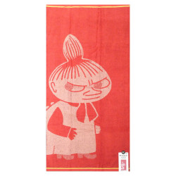 Moomin Bath Towel Little My Koral Pink 70 x 140 cm Finlayson
