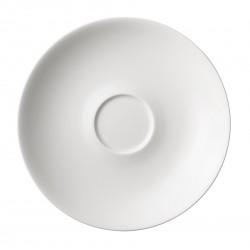 24h White Jumbo Saucer 20 cm