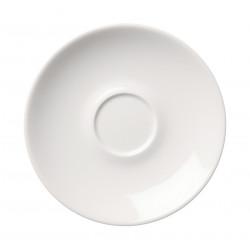 24h White Saucer 17 cm
