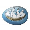 Arabia Ceramics Bunny Annual Egg 2015 Helja