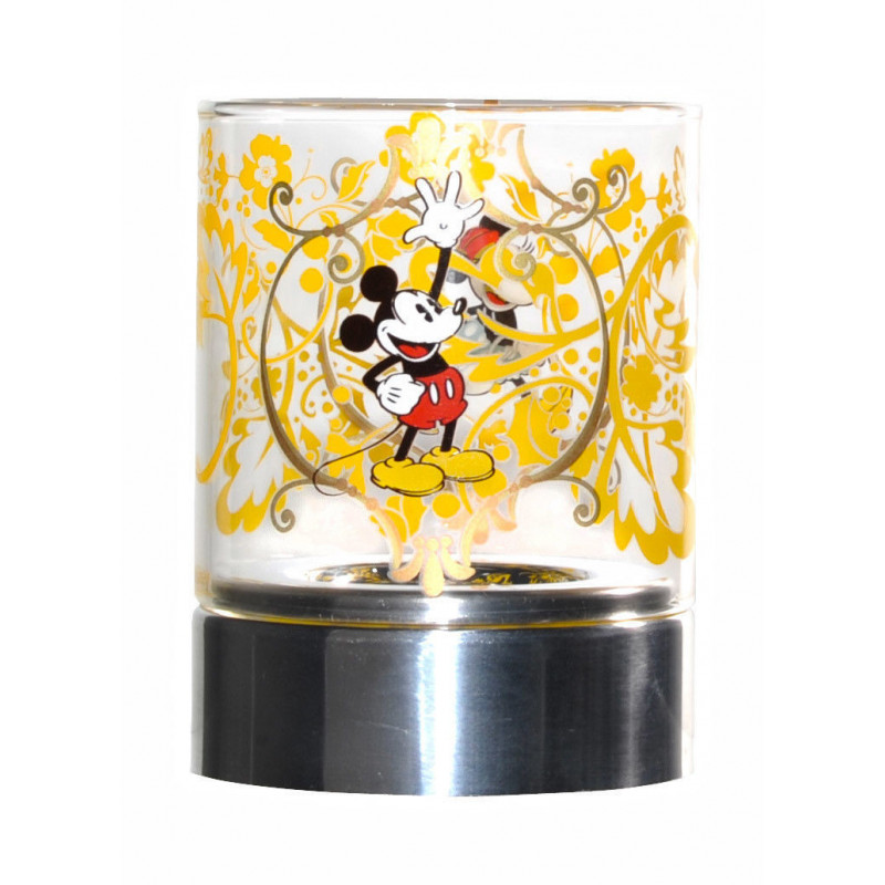 Disney Tea Light Holder Mickey Gold