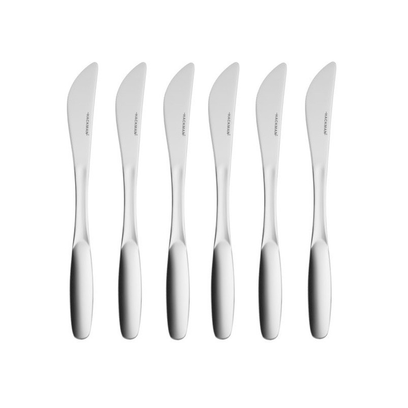 Hackman Savonia Sandwich Knives Stainless Steel 6 pcs