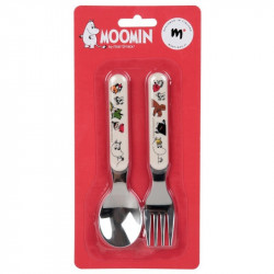 Moomin Children Set Fork and Spoon