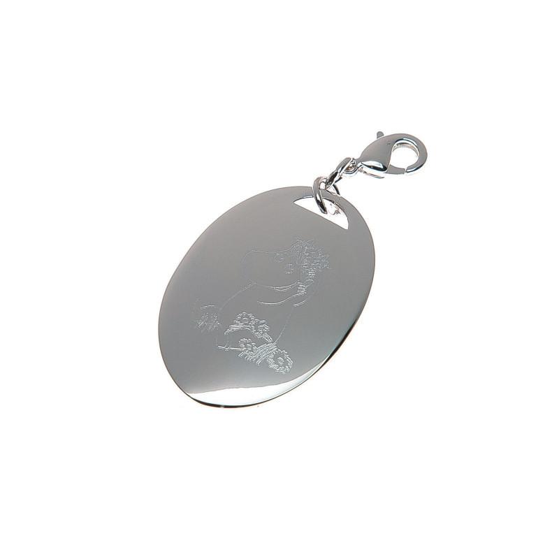 Moomin Snorkmaiden Metal Pendant Jewellery Muurla Design