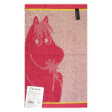 Moomin Hand Towel Snorkmaiden and Flower Pink 30 x 50 cm Finlayson