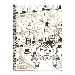 Moomin Spiral Notebook Comics Little My A5 80 Squared Pages 7x7 mm