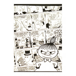 Moomin Notebook Comics Little My A5 40 Squared Pages 7x7 mm