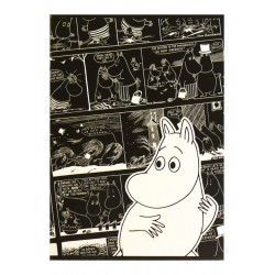 Moomin Notebook Comics Moomintroll A5 40 Squared Pages 7x7 mm