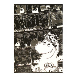 Moomin Notebook Comics Snorkmaiden A5 40 Squared Pages 7x7 mm