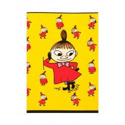 Moomin Notebook Little My Yellow A5 40 Squared Pages 7x7 mm