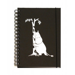 Moomin Spiral Notebook Hard Covers Moomintroll A5 100 Ruled Pages