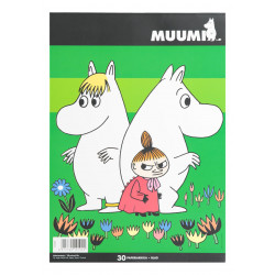 Moomin Drawing Paper A4 30 Sheets