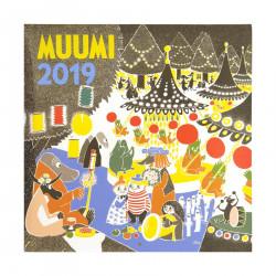 Moomin Calendar 2019 30 x 30 cm Putinki