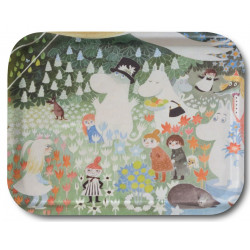 Moomin Birch Tray Dangerous Journey 43 x 33 cm