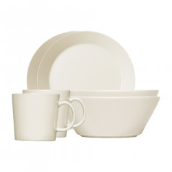 Teema Breakfast Set Gift Box 6 pcs (2 Mugs, 2 Bowls, 2 Plates)