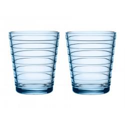 Aino Aalto Tumbler Aqua Blue 0.22 L 2 pcs Iittala