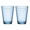 Aino Aalto Tumbler Aqua Blue 0.33 L 2 pcs Iittala