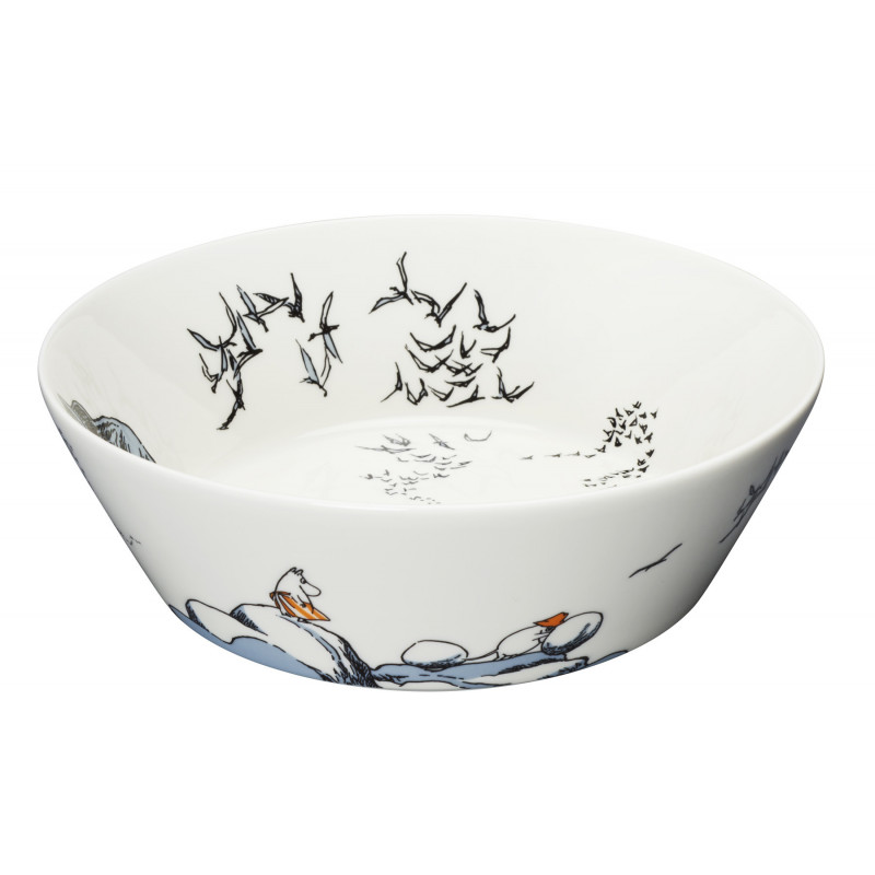 Moomin Serving Bowl 23 cm True to Its Origin