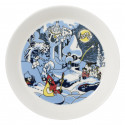 Moomin Collector's Plates 19 cm Millenium and Rose