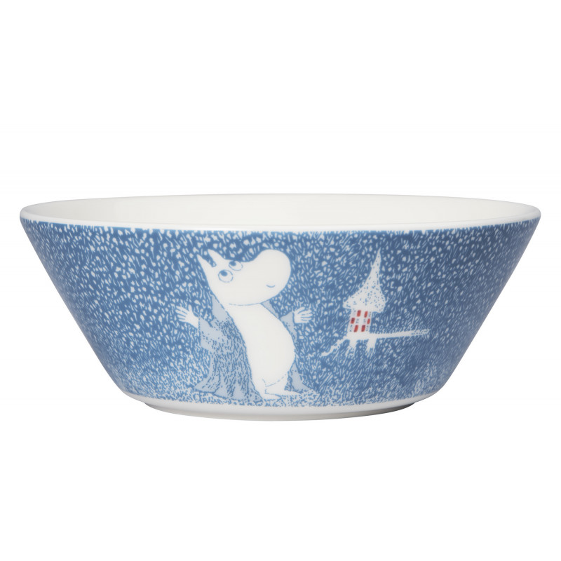Moomin Light Snowfall Bowl 15 cm