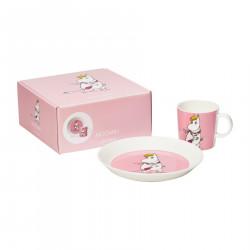 Moomin Set Gift Box Snorkmaiden Plate and Mug