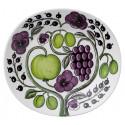Purple Paratiisi Oval Plate 22 x 25 cm